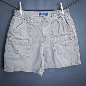 Croft & Barrow Mens Shorts Size 36 Green Cargo